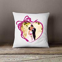 Подушка с любовным фото
