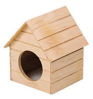 Дом из дерева для маленьких грызунов:мышек, хомяков. Мрия №1 Природа