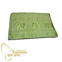Полотенце лицевое 50*90, Бамбук, зеленый