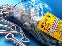Дюбель елочка  для плоского кабеля до 12 мм  3х2,5(уп.100шт)