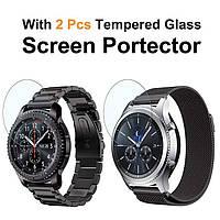 Браслеты из нержавеющей стали для Samsung Gear S3 Frontier + 2 стекла в подарок, фото 1