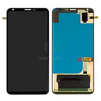Дисплей LG V30 H930, H931, H933, LS998U, US998, VS996 Оригинал с сенсорным стеклом Черный