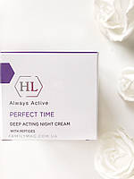 Ночной крем для лица Deep Acting Night Cream PERFECT TIME Holy Land 50 мл