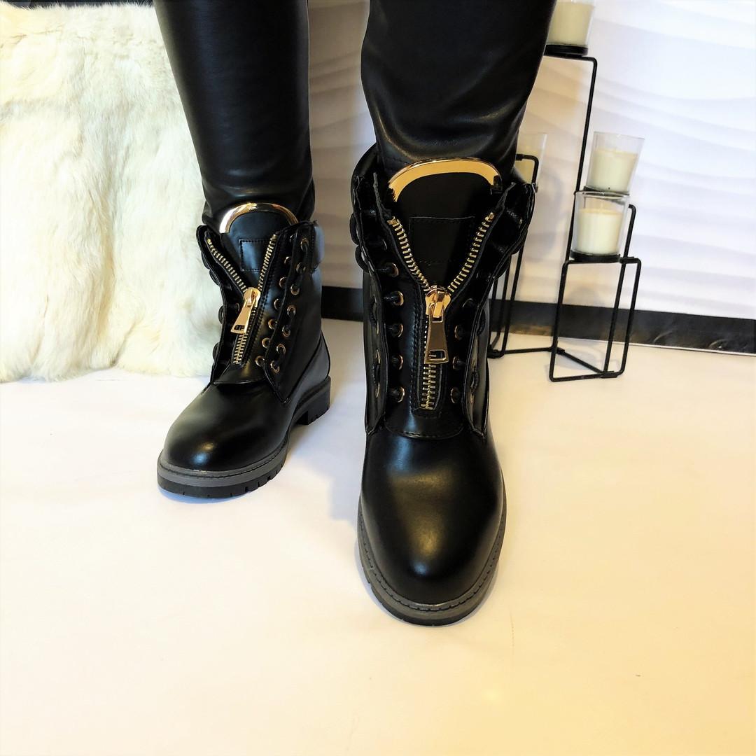 Женские демисезонные ботинки реплика люкс BALMAI черные.Маломерят ... a266b0bd03b