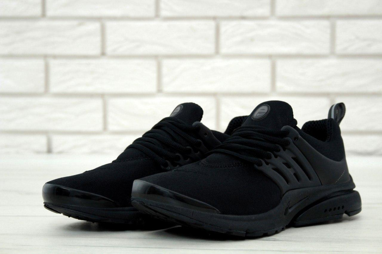 2e6ae5c5 Кроссовки мужские Nike Air Presto Fleece Black, найк аир престо, реплика