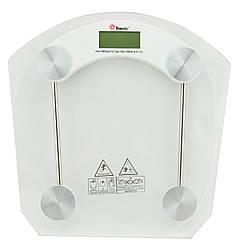 Весы напольные стеклянные (квадратнные) Domotec MS-2003B 180 кг