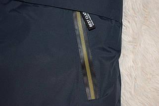 Куртка зима с капюшоном для мальчика синяя размер 140 146 152 158 164 176, фото 2