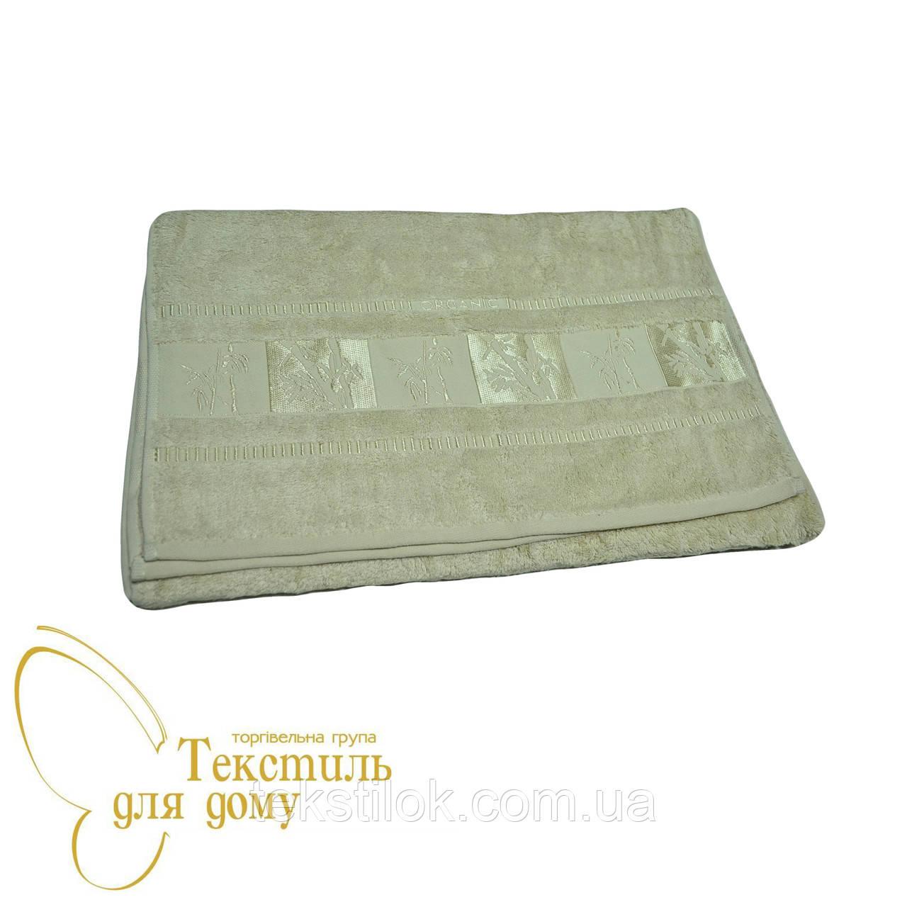 Полотенце лицевое 50*90, Бамбук, олива
