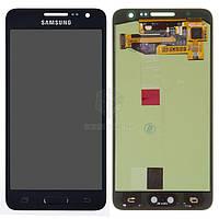 Дисплей Samsung Galaxy A3 2015 A300F, A300FU, A300H|Оригинал|с сенсорным стеклом|Черный