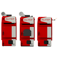 Котёл твердотопливный Альтеп TRIO UNI PLUS 14 кВт 75л. комплект ручная
