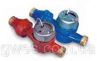 Счетчики с импульсным выходом тип JS-90-1,5-NK для горячей воды муфтовые Powogaz Ду15