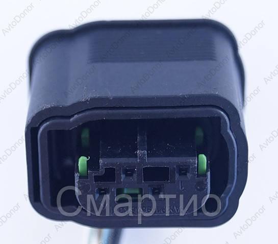 Разъем электрический 4-х контактный (16-9) б/у 1-967640-1
