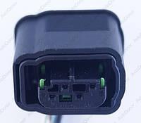 Разъем электрический 4-х контактный (16-9) б/у 1-967640-1, фото 1