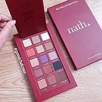 Палетка теней для век Revolution Pro x NATH Eyeshadow Palette