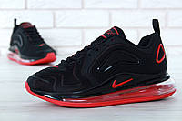 "Кроссовки Nike Air Max 720 ""Black/Red"" (реплика А+++ ), фото 1"