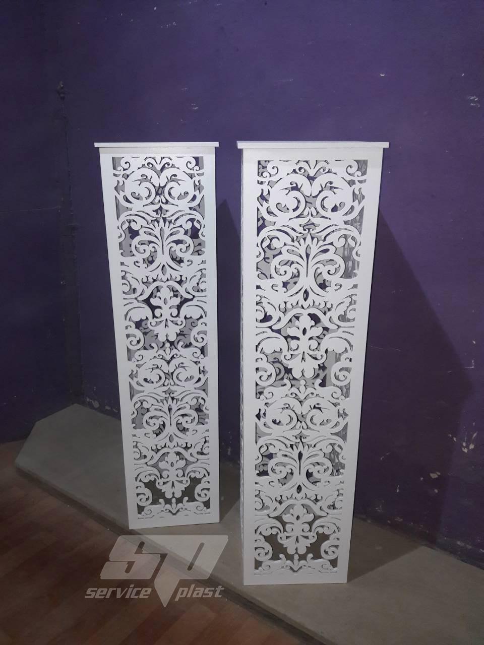 """Ажурные свадебные колоны, тумбы, подставки серии """"Ренессанс"""""""