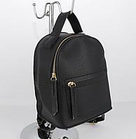 Мини-сумочка-рюкзак  MaxFly 50146 черный, Италия