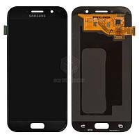 Дисплей Samsung Galaxy A5 2017 A520F|Оригинал|с сенсорным стеклом|Черный