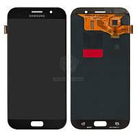 Дисплей Samsung Galaxy A7 2017 A720F|Оригинал|с сенсорным стеклом|Черный