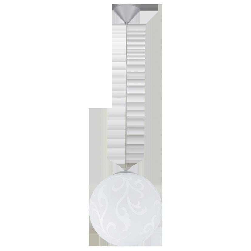 Подвесной светильник 90743 EGLO Rebecca 1х60Вт Е27 металл/белый