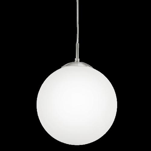 Светильник подвес 85261 EGLO Rondo 1х60Вт Е27 стекло/белый