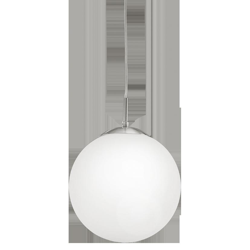 Светильник подвесной 85262 EGLO Rondo 1х60Вт Е27 250мм металл/белый