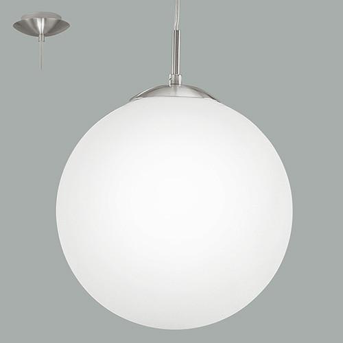 Светильник подвесной 93199 EGLO Rondo 1 1х7Вт Е27 стекло/белый