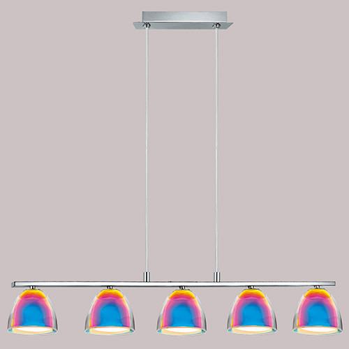 Светильник подвесной 90079 EGLO Acento 5х40Вт G9 матовый/хром.