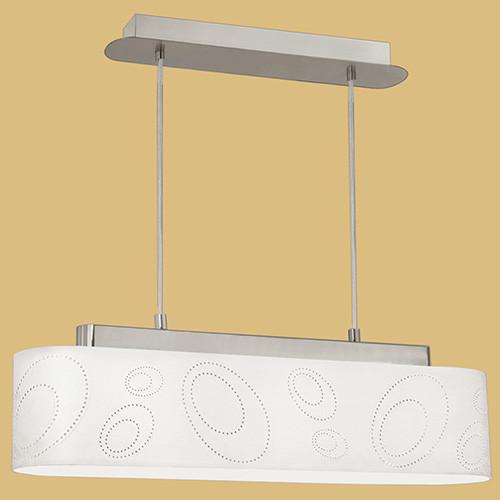 Подвесной светильник 89213 EGLO Indo 3х60Вт E27 металл/бежевый