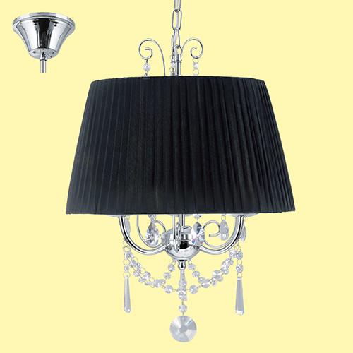 Люстра EGLO Diadema 89032 3х40Вт E14 черный/хром