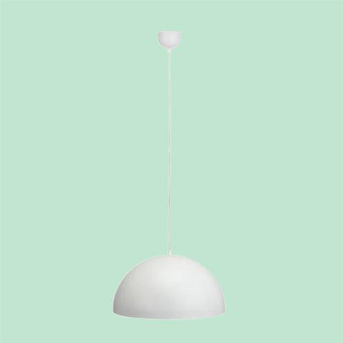 Светильник подвесной Markslojd  Bas 105281 1х60Вт E27 белый/металл