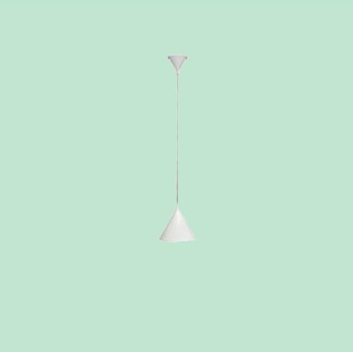 Светильник подвесной Markslojd  Bas 105284 1х40Вт E14 белый/металл