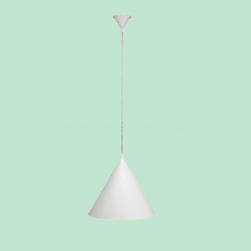 Светильник подвесной Markslojd  Bas 105286 1х60Вт E27 белый/металл