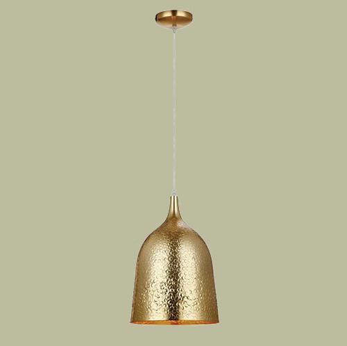 Светильник подвесной Markslojd  Bongo 106175 1х60Вт E27 золото/металл