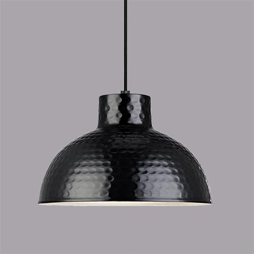 Подвесной светильник  Markslojd Hammer 106109 1х60Вт E27 черный/металл