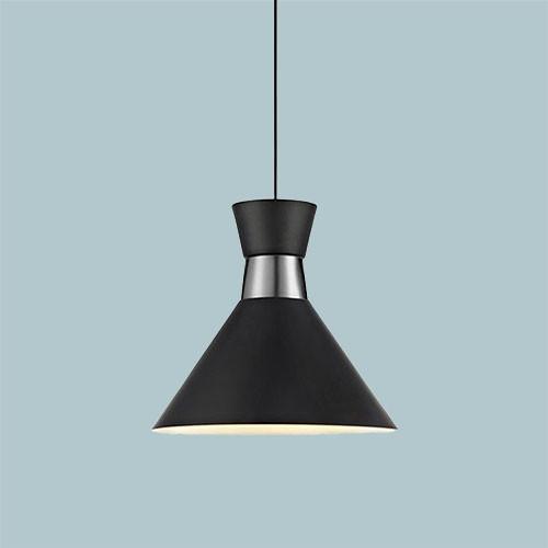 Подвесной светильник  Markslojd Waist 106802 1х60Вт E27 черный/металл