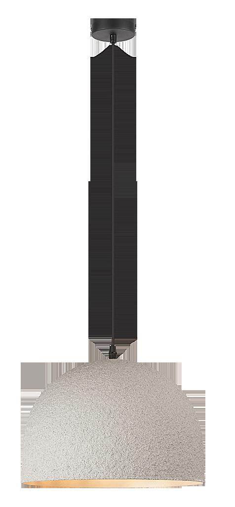 Подвесной светильник Rabalux Alec 2575 1х40Вт Е27 серый/металл