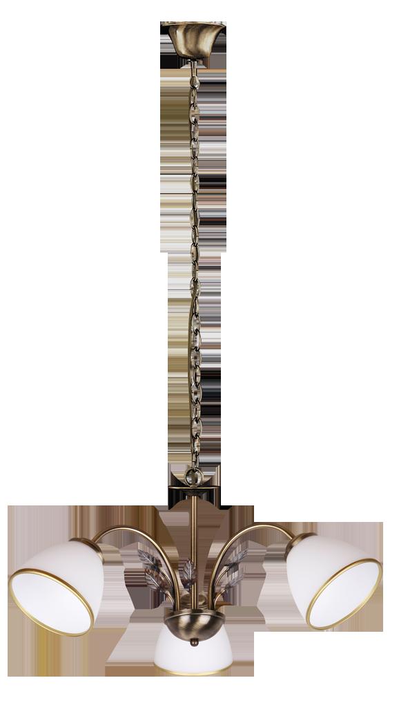 Люстра Rabalux Aletta 2779 3х40Вт Е14 белый/металл