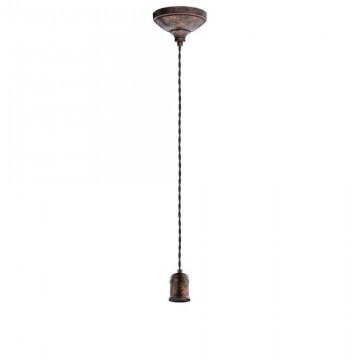 Подвесной светильник Eglo Yorth 32535 медный/металл