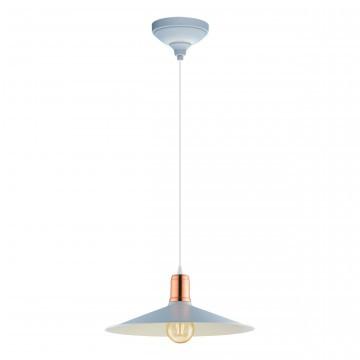 Подвесной светильник Eglo Bridport-P 49032 голубой/металл