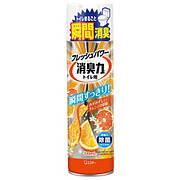 """Освежитель-спрей воздуха для туалета """"SHOUSHUURIKI"""" апельсин 330 мл (11427)"""
