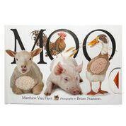 Тактильная книга MOO про домашних животных