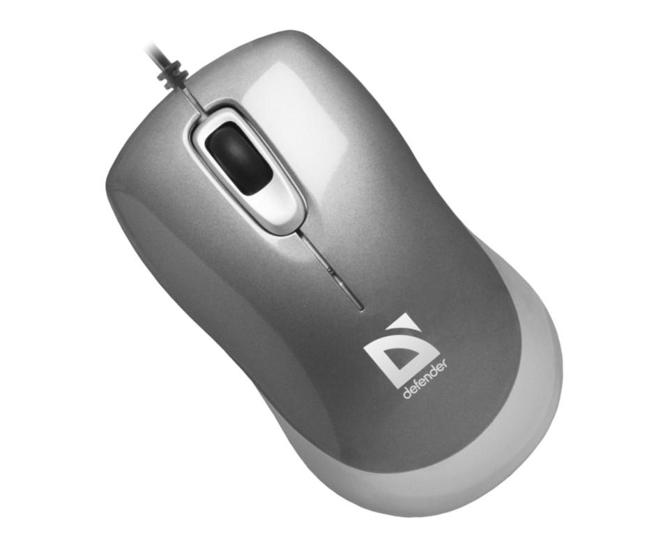 Мышь Defender Orion MM-300 G, Grey USB