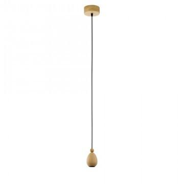 Подвесной светильник Eglo Yorth 32543 дерево/бежевый