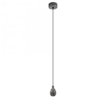 Подвесной светильник Eglo Yorth 32545 дерево/черный