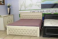 Дерев'яне двоспальне ліжко, фото 1