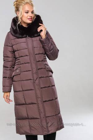 Пальто Сангрия- капучино № 1 с 48 по 64 размер(вр)
