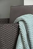 Набор садовой мебели Allibert Monaco set серый, фото 4