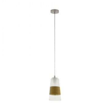 Подвесной светильник Eglo Burnham 49151 белый/стекло