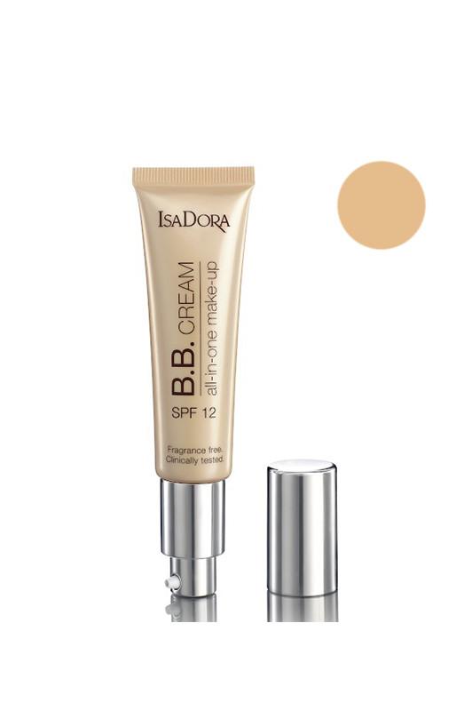 IsaDora Cream All-in-One Make-up SPF 12 BB Крем 08